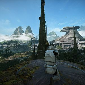 View of Kashyyyk